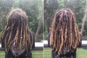 Melbourne Dreadlocks maintenance before after
