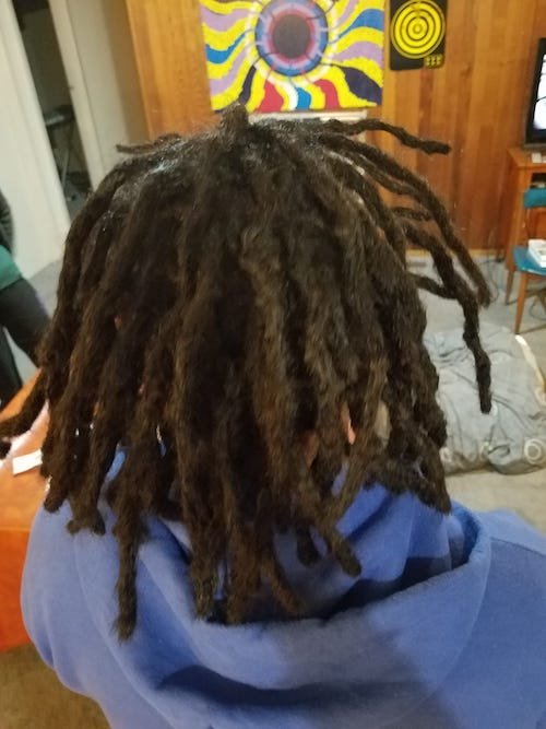 dreadlocks installation after