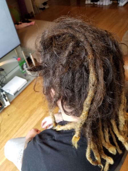 dreads maintenance before