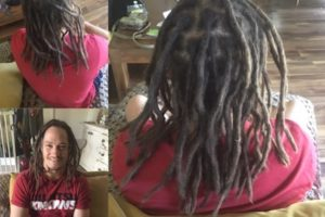 dread maitenance Melbourne before/after
