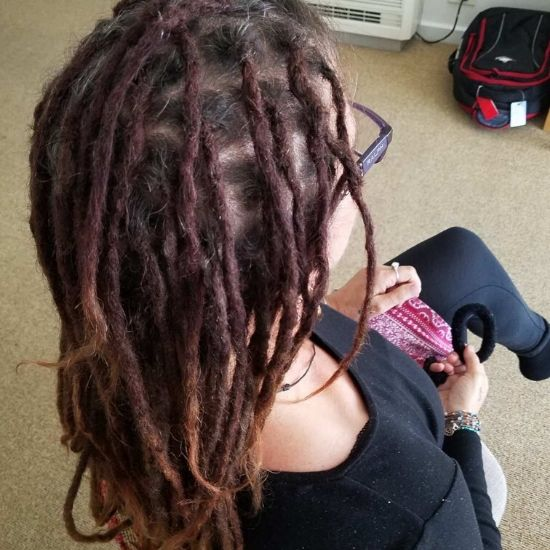 Dread maintenance on long hair Melbourne after