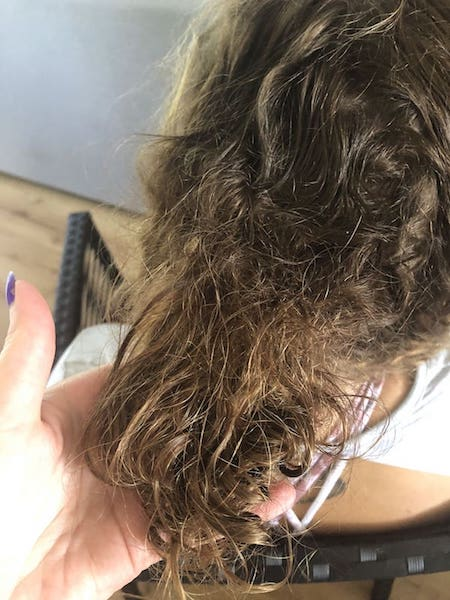 Melbourne knot removal detangling matted hair